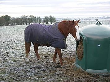 Fieno campana per cavalli nuovo modello con bordi rinforzati al Fress aperture e integrato stabile Transp ort/öse