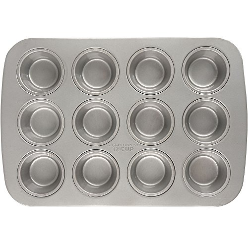 Emeril Lagasse 62675 Aluminized Steel Nonstick 12-Cup Muffin Pan by Emeril Lagasse (Image #1)'