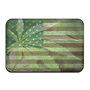 Marihuana Weed American Flag entrada mats 4060cm