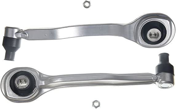 A-Premium Control Arm with Ball Joint Tie Rods Compatible with Mercedes-Benz CLS500 CLS55 AMG CLS550 CLS63 AMG E320 E500 E550 RWD 12-PC Set
