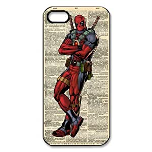 Deadpool Marvel Comic Superhero Soft TPU Case Cover for iPhone 5/5s