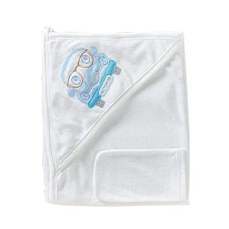Auto de toalla con capucha de algodón – Incluye 1 gratis Manopla – con süßem Diseño