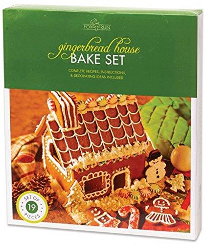 Fox Run Gingerbread House Cookie Cutter Bake