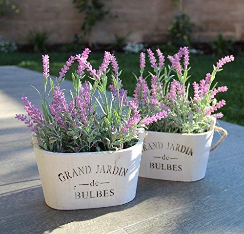 Review Purple Silk Floral Arrangements