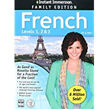 Instant Immersion French Family Edition Levels 1,2,3
