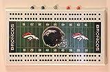 Rico Denver Broncos NFL Football Cribbage Board