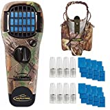 Realtree Portable Mosquito Repeller Device with Holster + 2 Earth Scent Value Packs