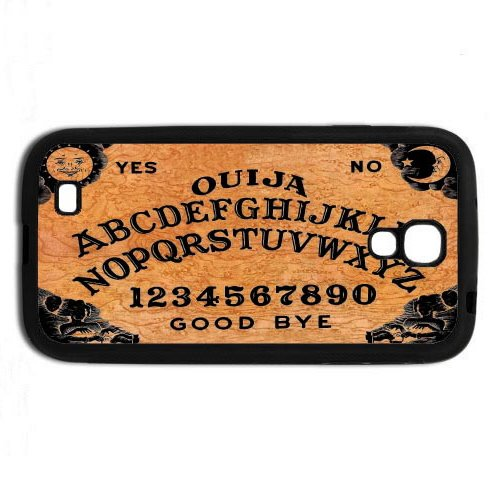 Ouija Board Samsung Galaxy S4 Rubber Cell Phone Case also available for S3/S4/S5/ and Iphone (White)