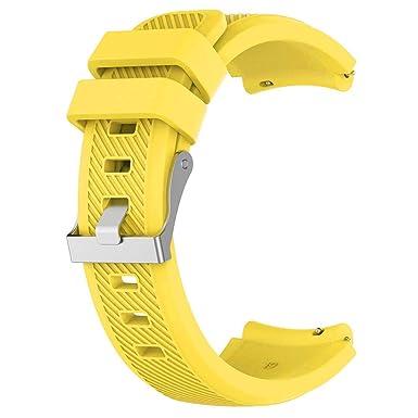 Correa para Reloj Huawei GT/GT2 Smartwatch 22mm /46mm para La Muñeca con Correa De Reloj De Silicona De Repuesto Correa Deportiva De Silicona