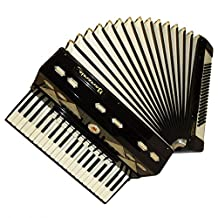 Barcarole Dominante, 120 Bass, 14 Registers, Case, German Piano Accordion, 710, Very Rare Keyboard Accordian For Sale.