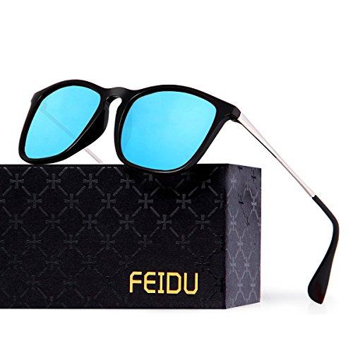 FEIDU Polarized Classic Retro Wayfarer Retro Sunglasses for Men Unisex FD - Sunglasses Ce On