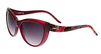a4ea5c0d53 Image Unavailable. Image not available for. Color  Just Cavalli Women s  JC631S Acetate Sunglasses RED 57