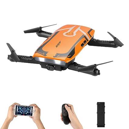 Juguete Hold HdH818 Quadcopter RtfDron Wifi 720p 6 Hd Ejes Altitud Cámara Rc Fpv Plegable Helifar Mini Drone Gyro Con SUVGzjMLqp