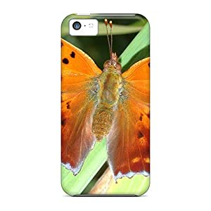 [lhA52004GxYc]premium Phone Cases For Iphone 5c/ Golden Butterfly Cases Covers