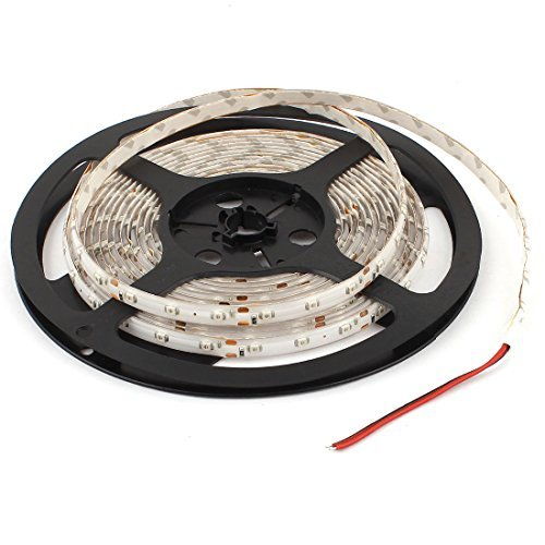 16ft 3528 SMD 300 LEDs IP44 Waterproof Red Flexible LED Faixa de Luz - - Amazon.com
