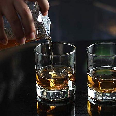Lplpol Custom Rocks Glass | Whisky Glass | Scotch Glass | Regalo personalizado | Vidrio grabado | Vidrio personalizado | Vidrio de cóctel | Regalo para él