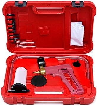 2 In 1 Brake Bleeder /& Vacuum Pump Gauge Test Tuner Kit Tools DIY Hand Tools New