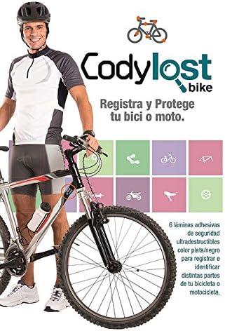 Adhesivo Identificador Codylost Bike: Amazon.es: Deportes y aire libre
