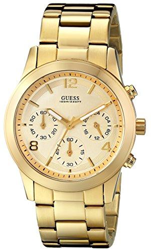 GUESS U13578L1 Contemporary Gold Tone Chronograph