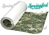 DIGITAL GREEN CAMO PATTERN HTV Heat Transfer Vinyl ROLL 12''x15' for Shirts