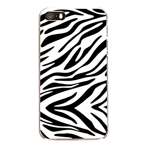 "Disagu Design Case Coque pour Apple iPhone 5s Housse etui coque pochette ""Zebra No.1"""