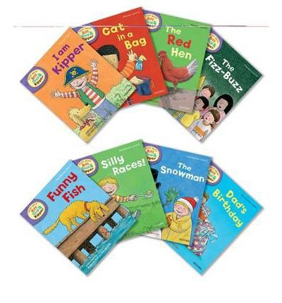 Read Online Oxford Reading Tree Read with Biff, Chip, and Kipper: Level 2: Pack of 8 (Multiple copy pack) - Common pdf