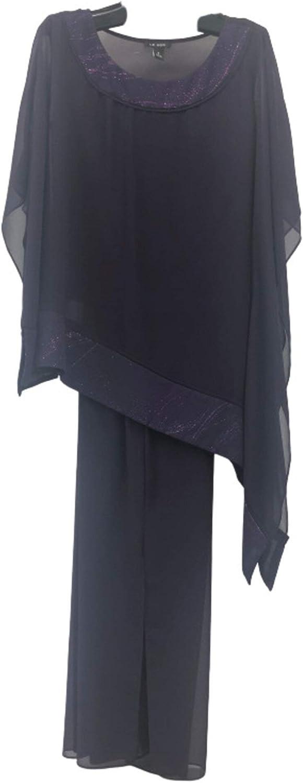 Le Bos Women's Poncho Pant Set
