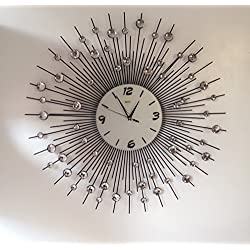 Decorative Metal Wall Clock (25''inch) By MEIDA