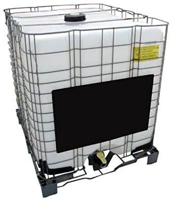 275 Gallon Tote with Metal Cage