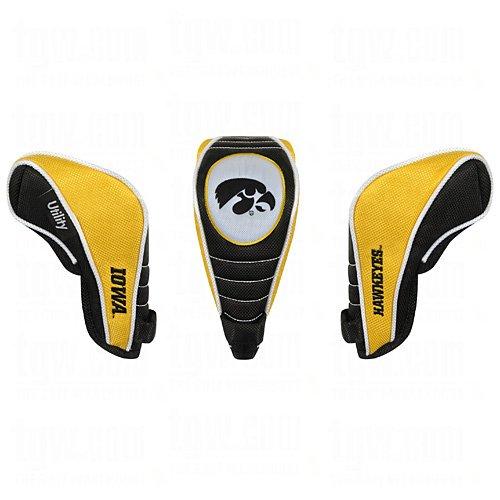 Iowa Hawkeyes Nylon Headcover - Team Effort Iowa Hawkeyes Shaft Gripper Utility Headcover