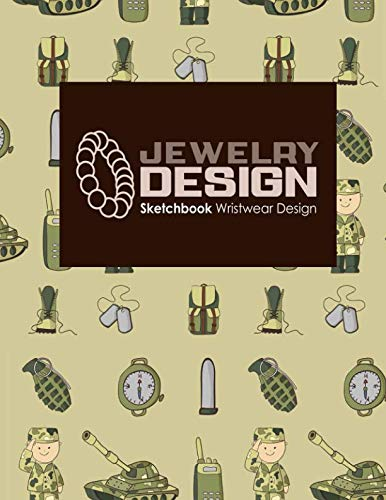 Jewelry Design Sketchbook: Wristwear Design