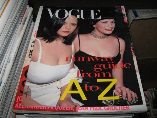 Renta Runway Oscar (Vogue Runway Guide from A to Z (Christina Ricci & Liv Tyler , Jewel , Bollywood , Marc Jacobs , Helmut Lang , Oscar De La Renta, 1999))