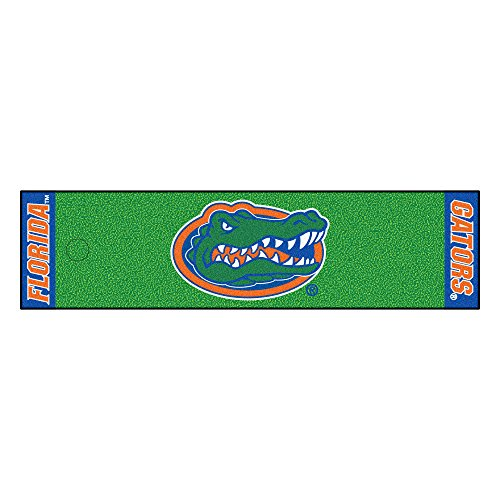 FANMATS NCAA University of Florida Gators Nylon Face Putting Green Mat