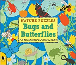 Book Nature Puzzles: Bugs and Butterflies: A first spotter's activity book