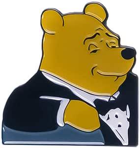 Fancy Winnie The Pooh Meme Enamel Pin   Fancy Winnie The Pooh Meme Pin Brooch Joke pin Cute pins for Backpack Kawaii Accessories