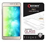 Chevron 9H Curved Edge Tempered Glass Screen Protector Protecting Eyesight for Samsung Galaxy On7 Pro
