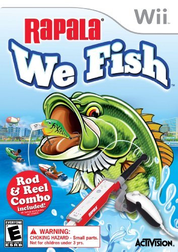Rapala: We Fish with Rod Bundle - Nintendo Wii by Activision