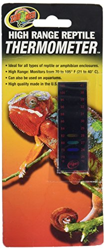 Zoo Med High Range Thermometer - 1