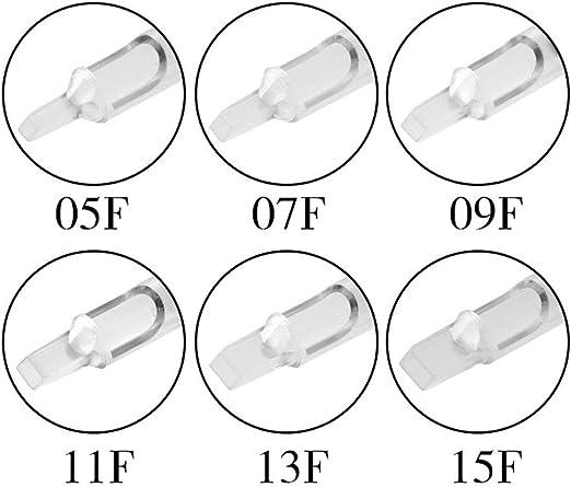 Color : 11DT QQYTS Tattoo Needle Disposable Fine Transparent Rod Black Plastic Handle Diameter 25mm 20 Box Artist Dedicated