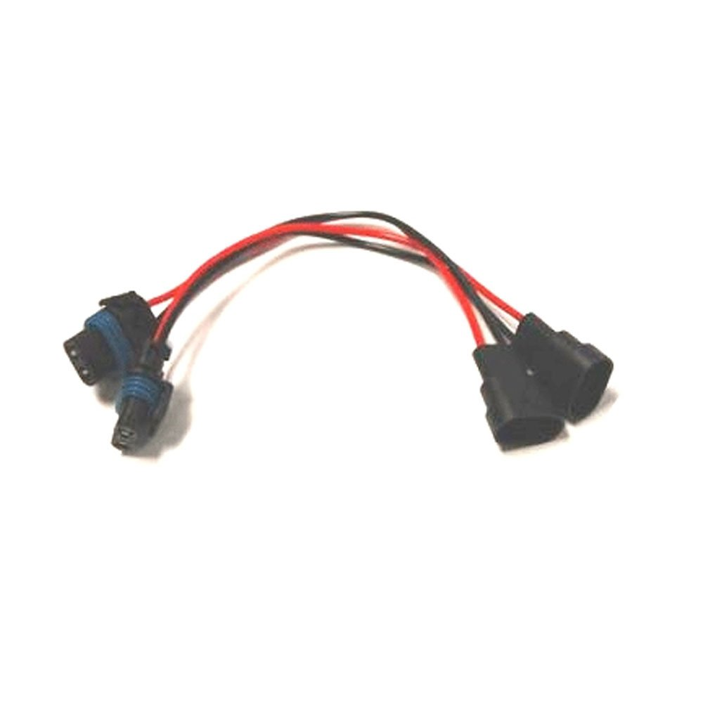 51rbOqXDxgL._SL1000_ amazon com h10 9145 male and female wire harness automotive Female Different Wires at gsmportal.co