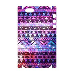 QNMLGB Hard Plastic of Aztec Tribal Cover Phone Case For iPhone 5,5S [Pattern-1]