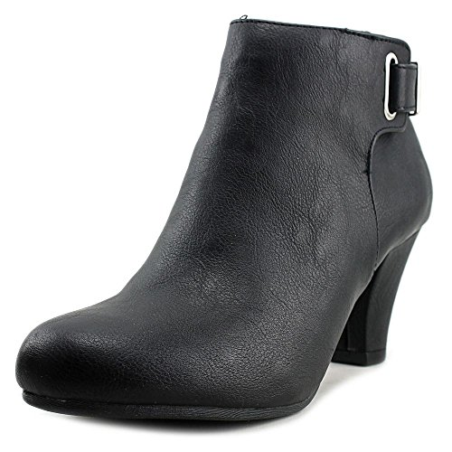 Womens Boots Fashion Toe Almond Ankle Black Fergalicious Mallory 1Bw7xCC