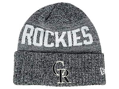 New Era Colorado Rockies Crisp Colored Knit Cuffed Hat Logo Sport Knit Hat