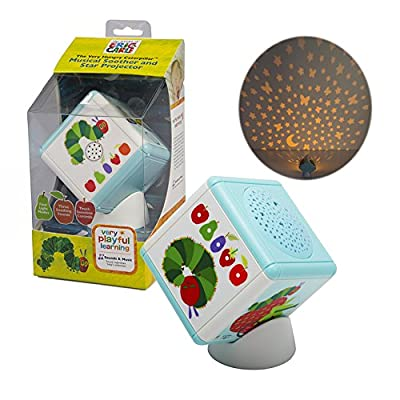 Baby Portable Sleep Soother & Projector Night Light - Eric Carle's The Very Hungry Caterpillar - 4 Modes of Light & Sound