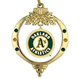 Final Touch Gifts Oakland Athletics Christmas Ornament