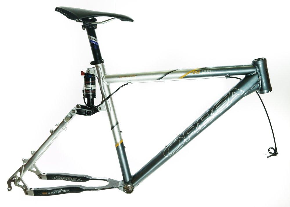 Orbea Oiz UFO 20'' Alloy / Carbon Full Suspension MTB Bike Frame 26'' w/Shock Used