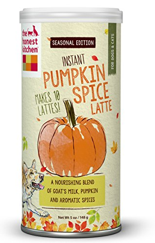 The Honest Kitchen Holiday Pumpkin Spice Latte 5 Ounces Holiday Tablespoon