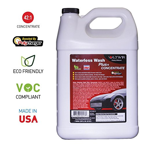 Ultima Waterless Wash Plus+ 42:1 Concentrate 1 gal. Container