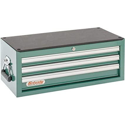 Grizzly H0837 3 Drawer Middle Chest with Ball Bearing Slides