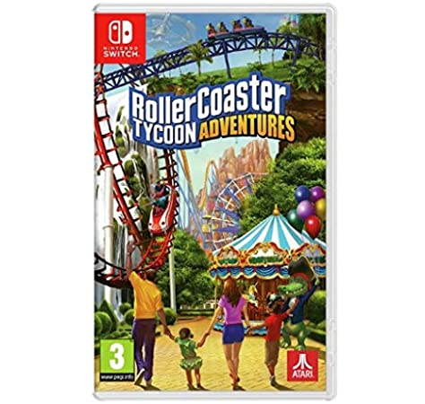 RollerCoaster Tycoon Adventure Nintendo Switch Game [Importación inglesa]: Amazon.es: Videojuegos